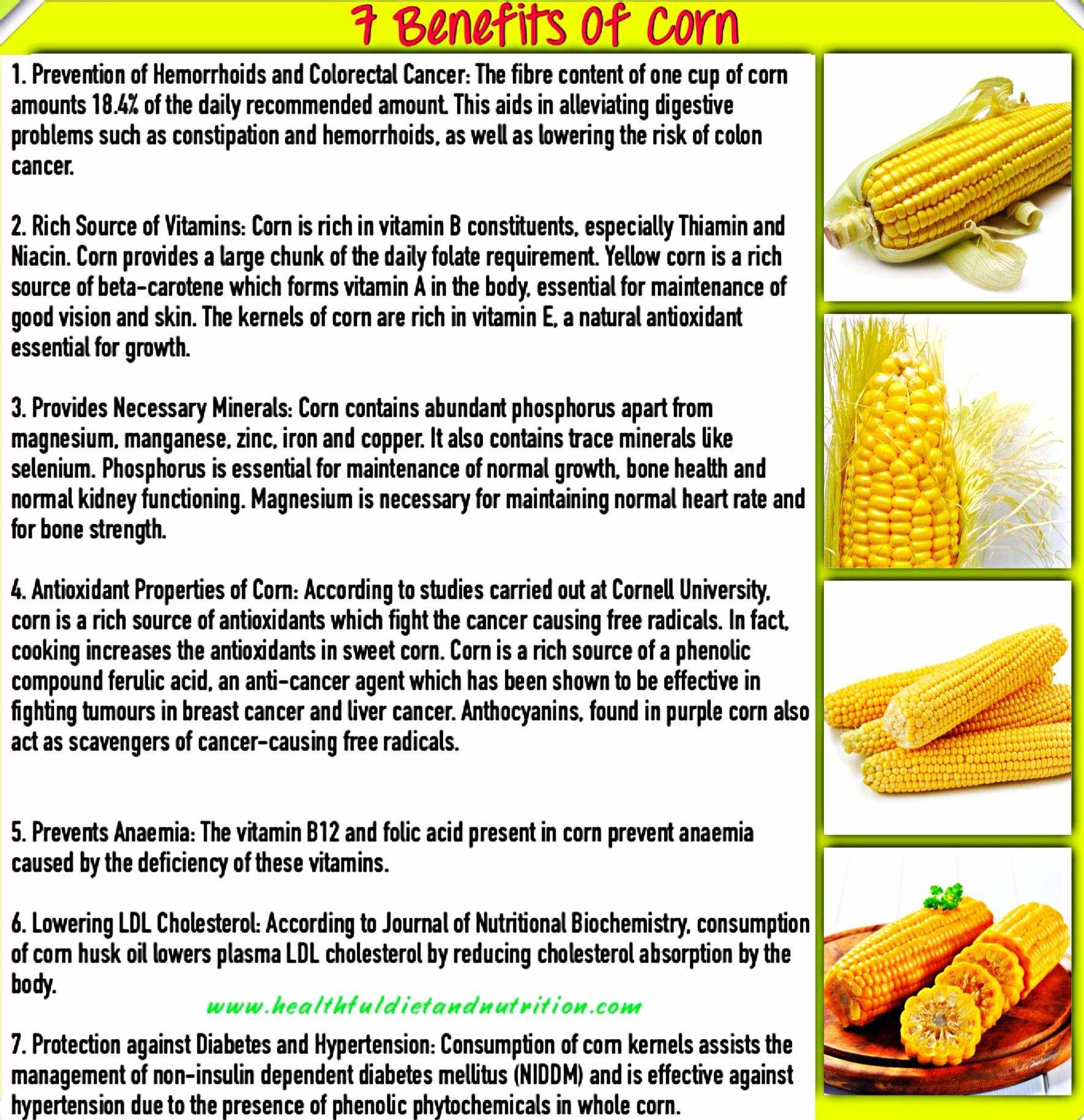 7 Health Benefits of Corn