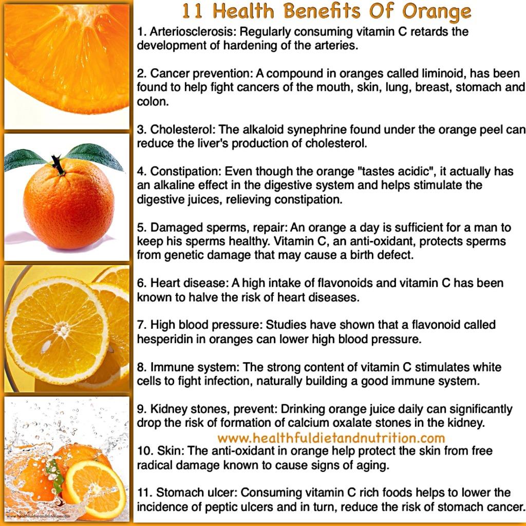 11 Benefits of Orange