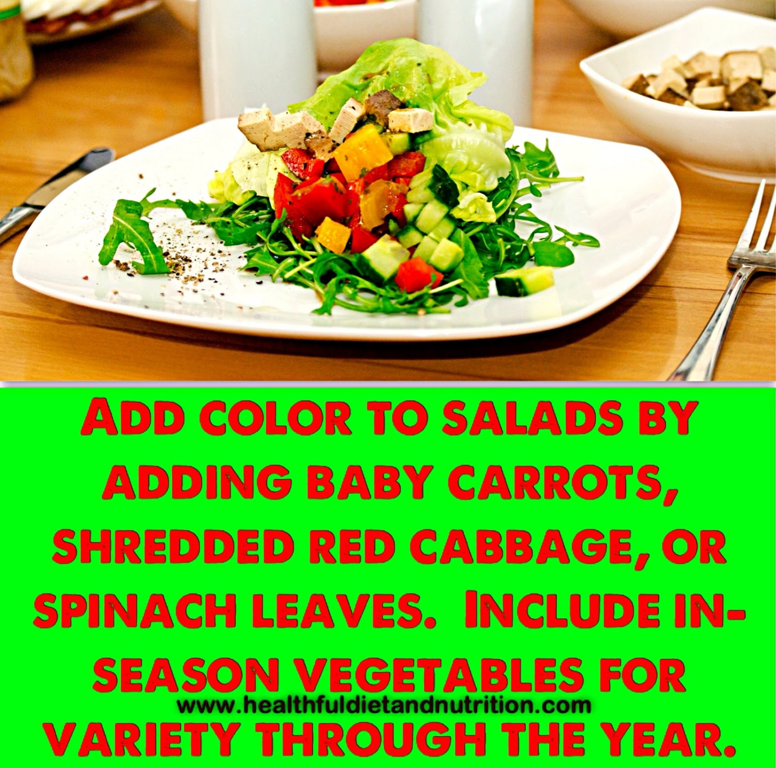 Add Color To Your Salads