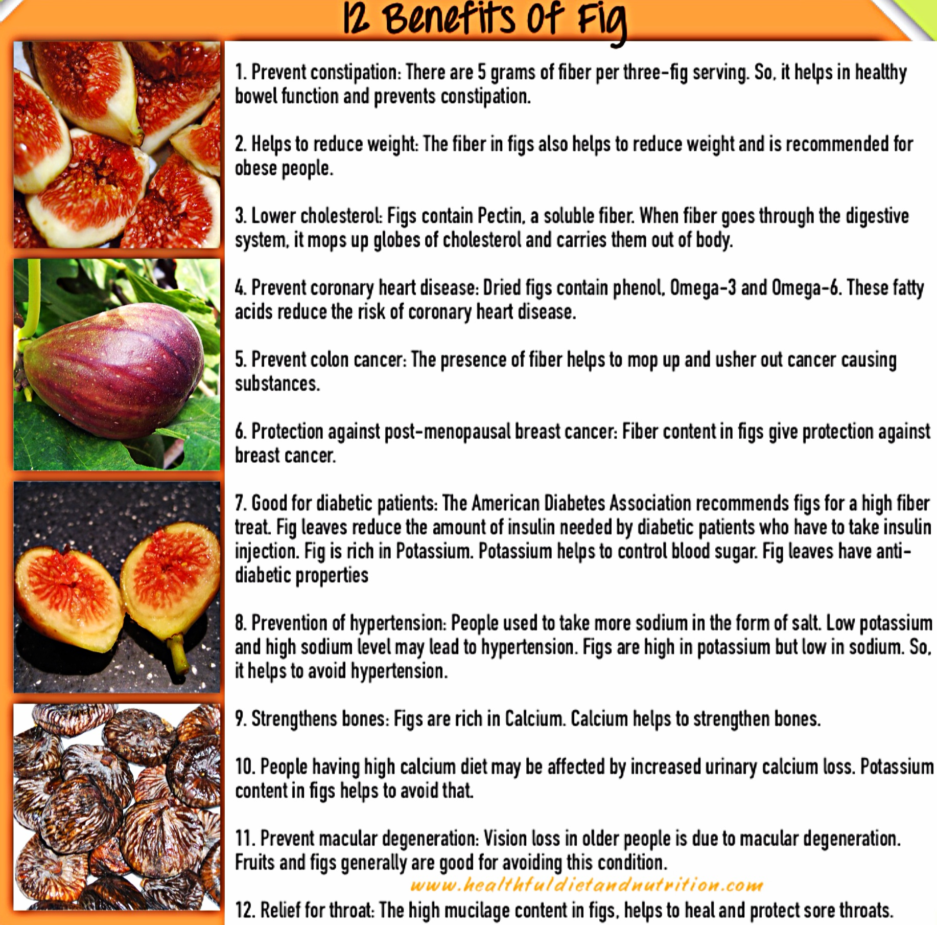 12 Health Benefits of Fig Fruit