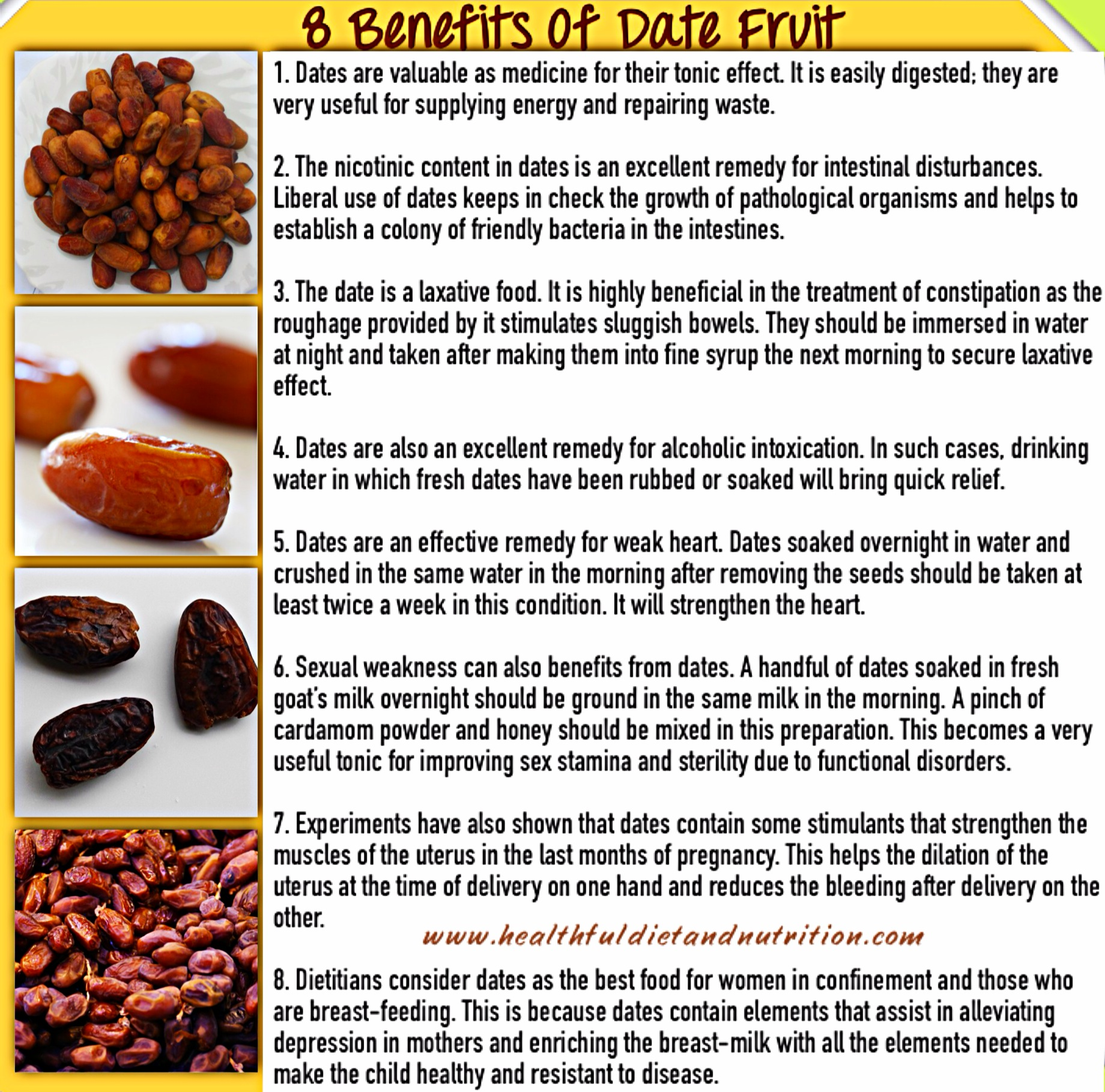 8 Health Benefits of Date Fruit