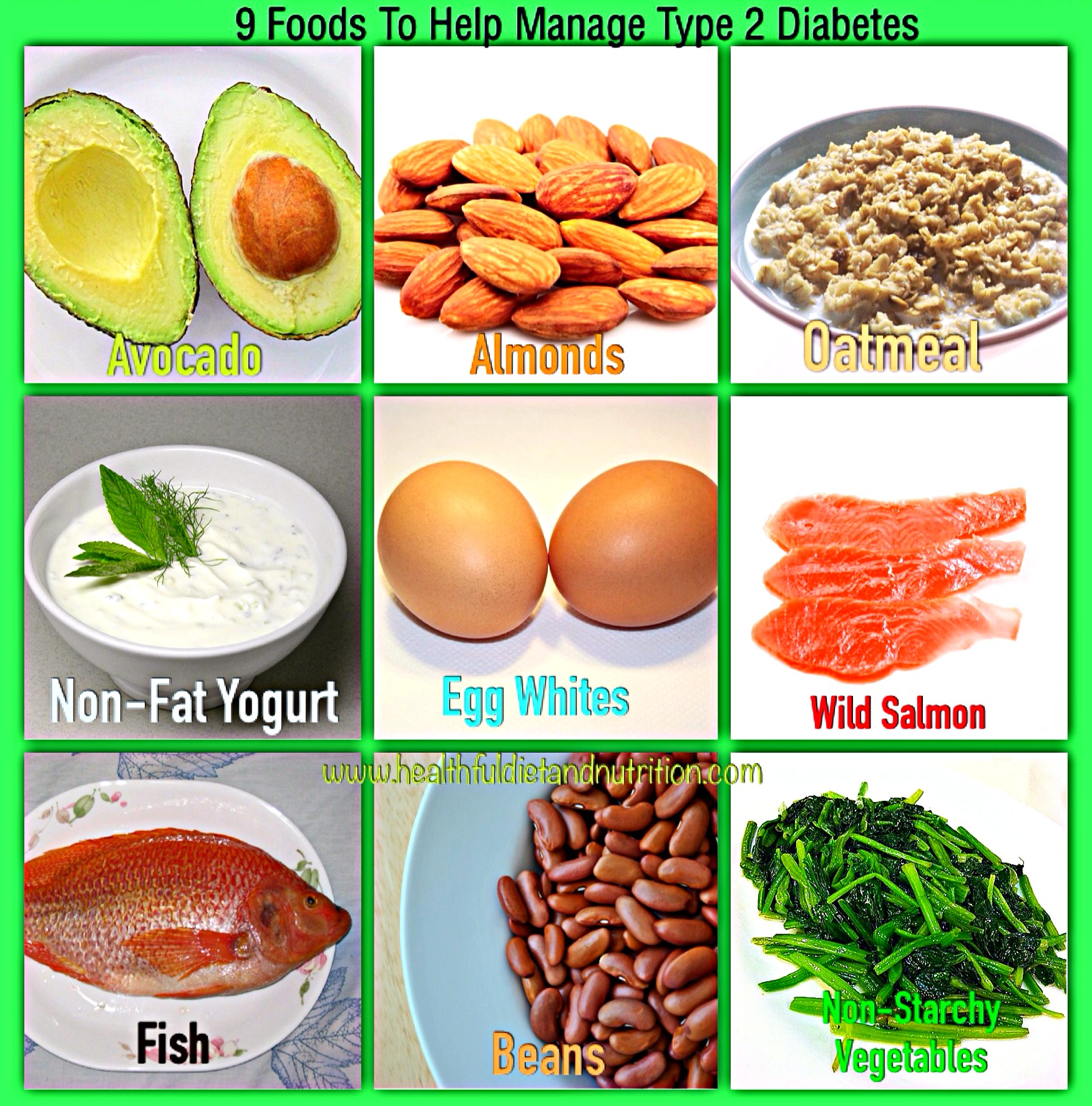 9 Foods To Manage Type 2 Diabetes