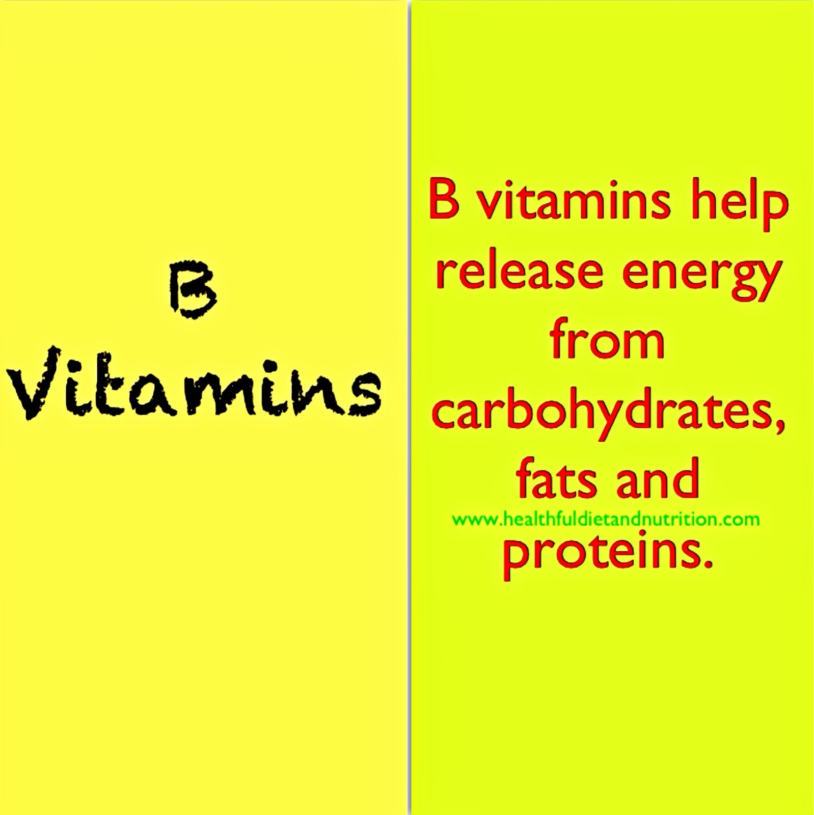 B Vitamins Benefits