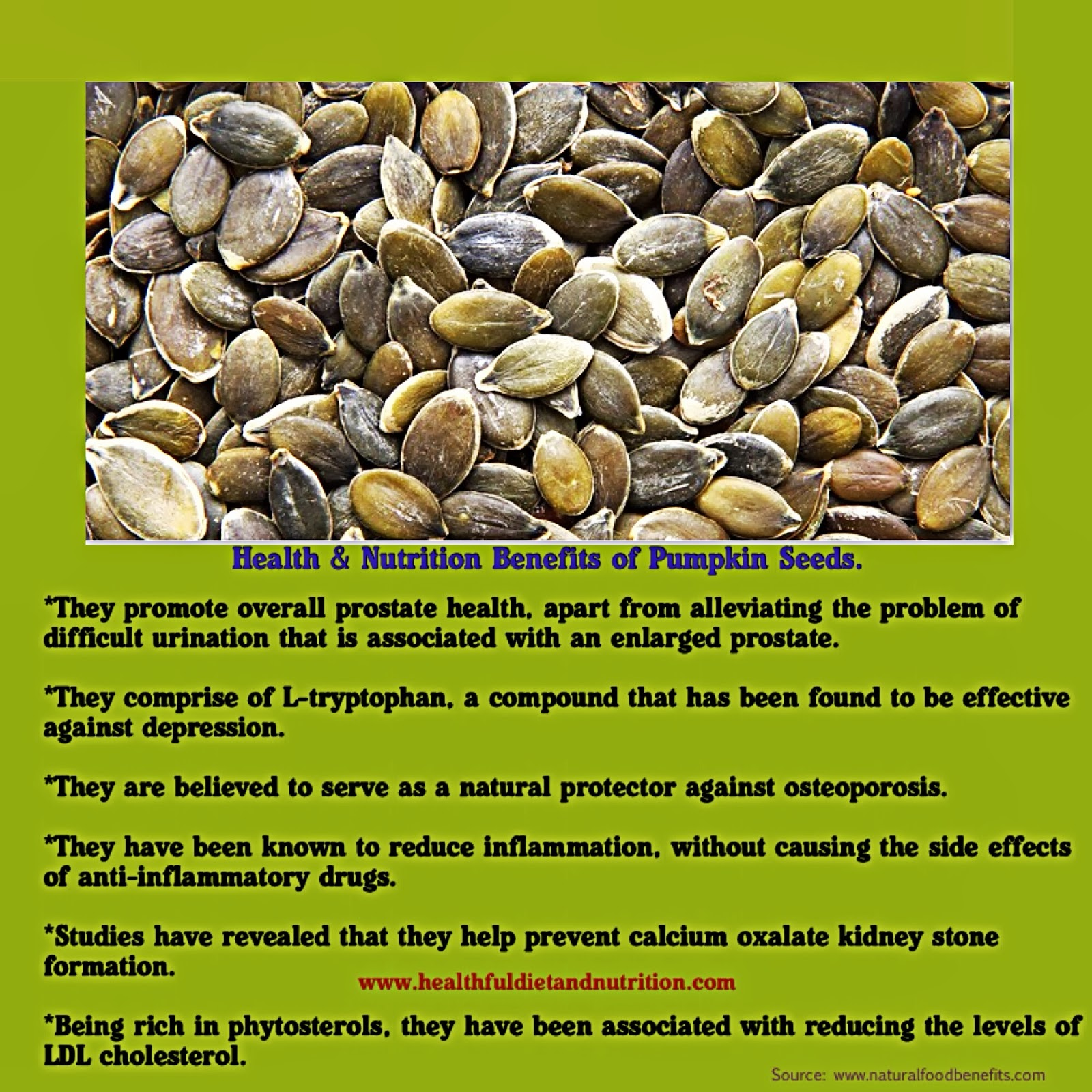 Health Benefits of Pumpkin Seed