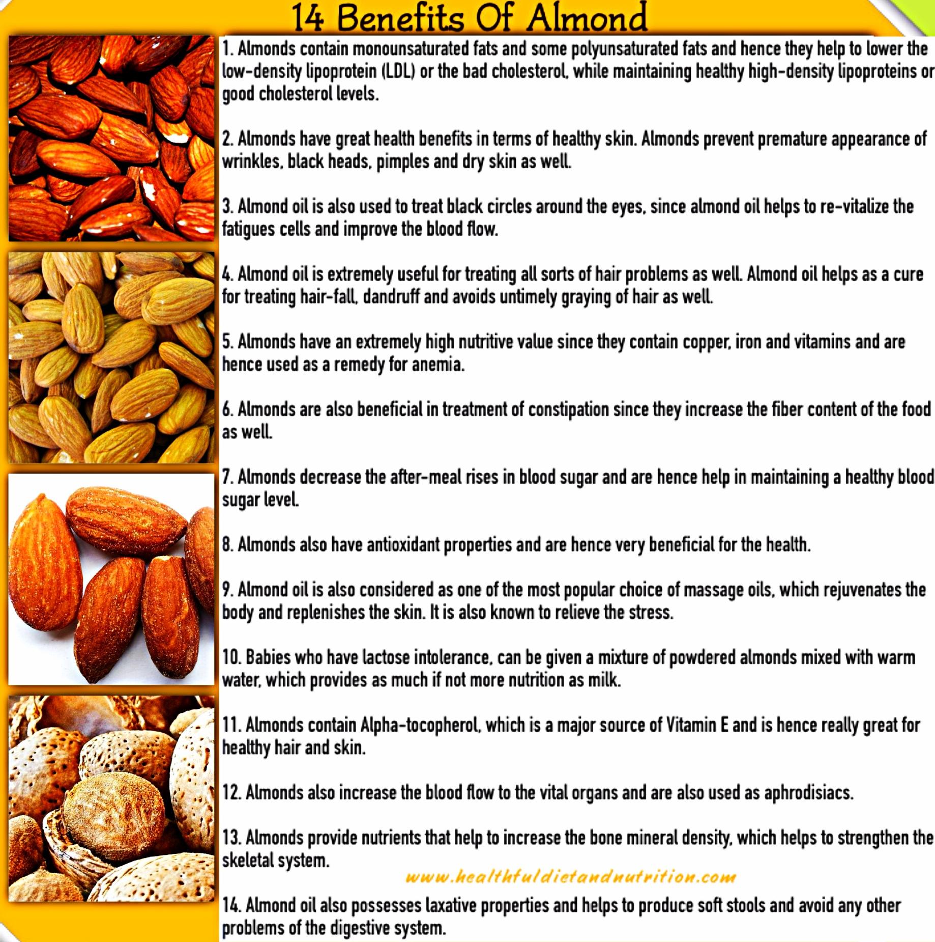 14 Benefits of Almond