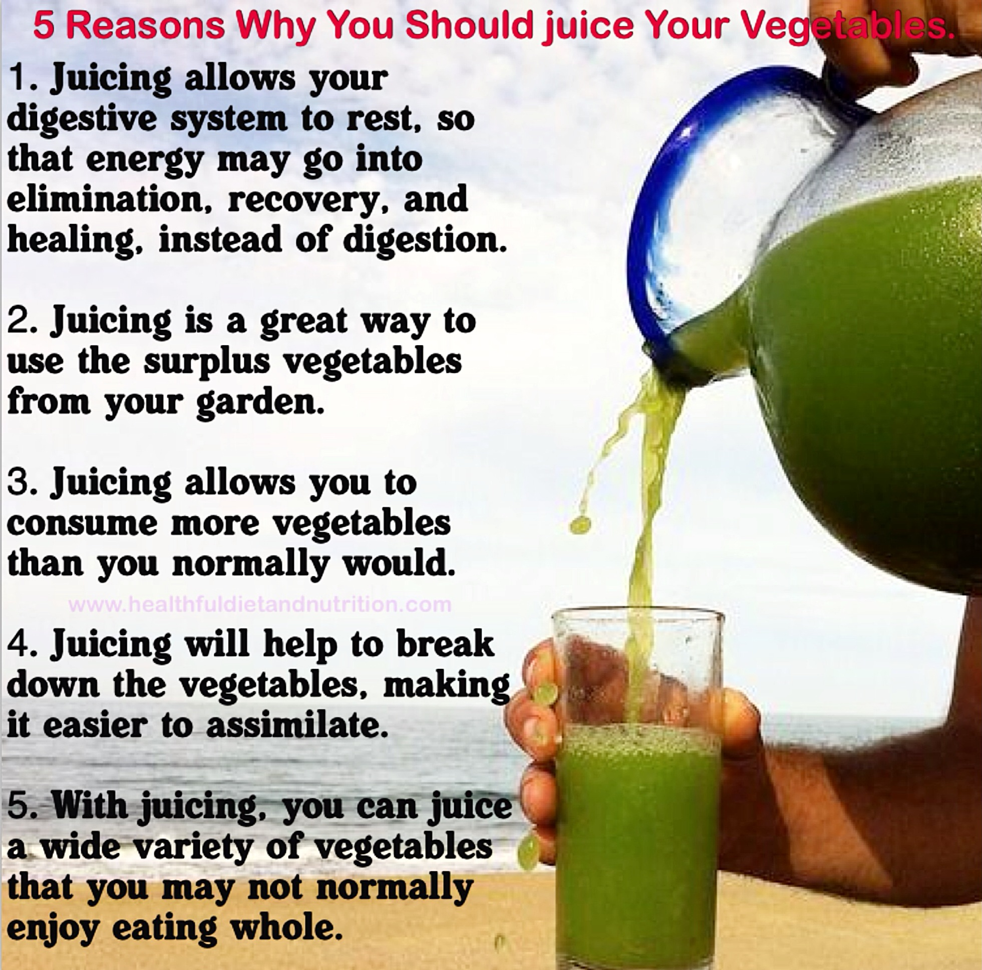 5 Reasons Why You Should Juice Your Vegetables