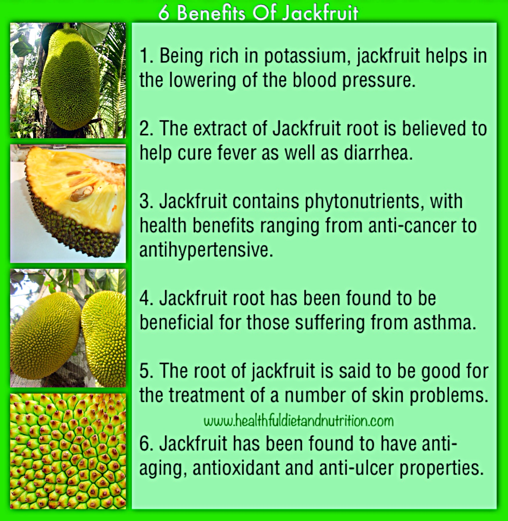 6 Benefits of Jackfruit