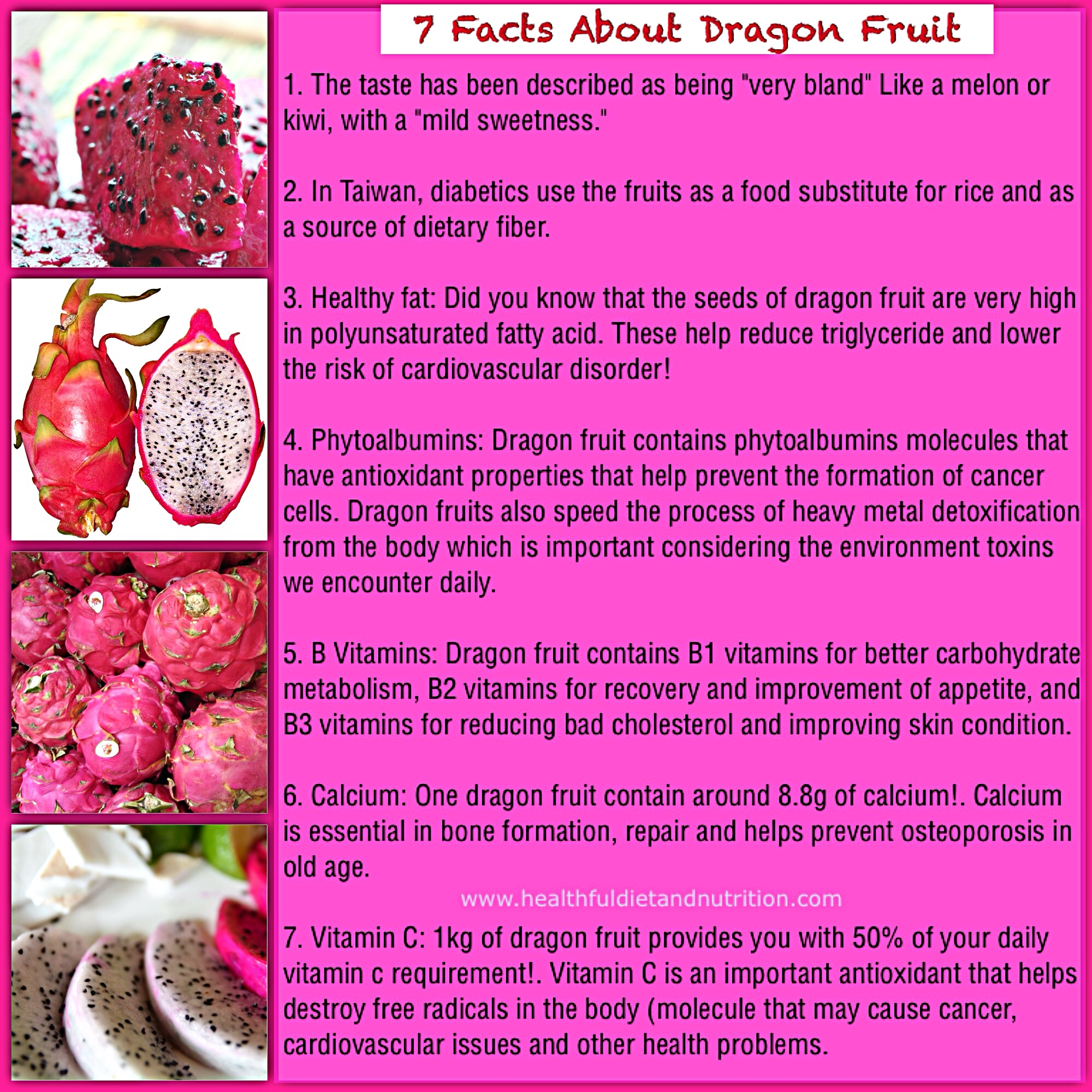 7 Facts About Dragon Fruit