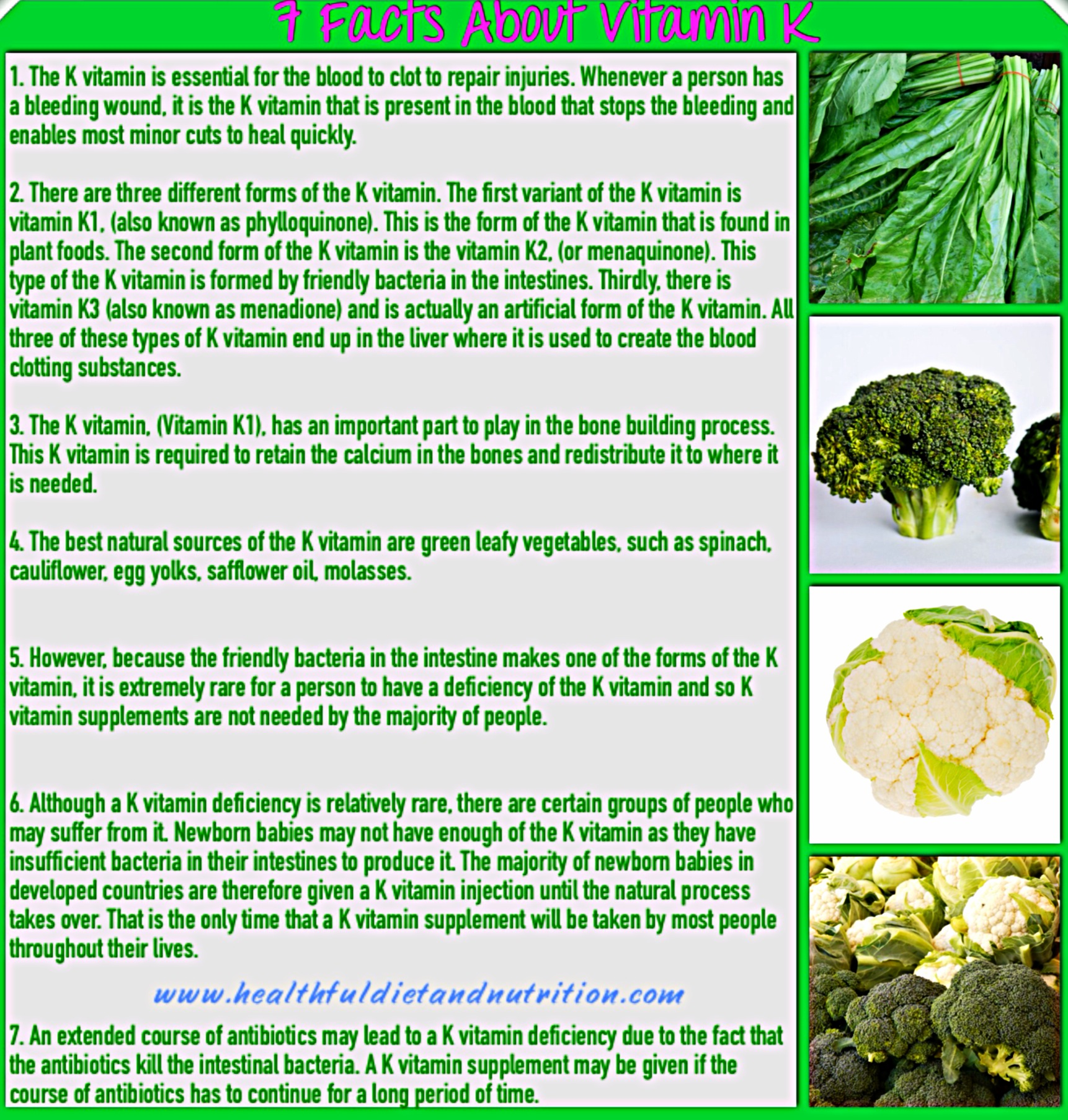 7 Facts About Vitamin K