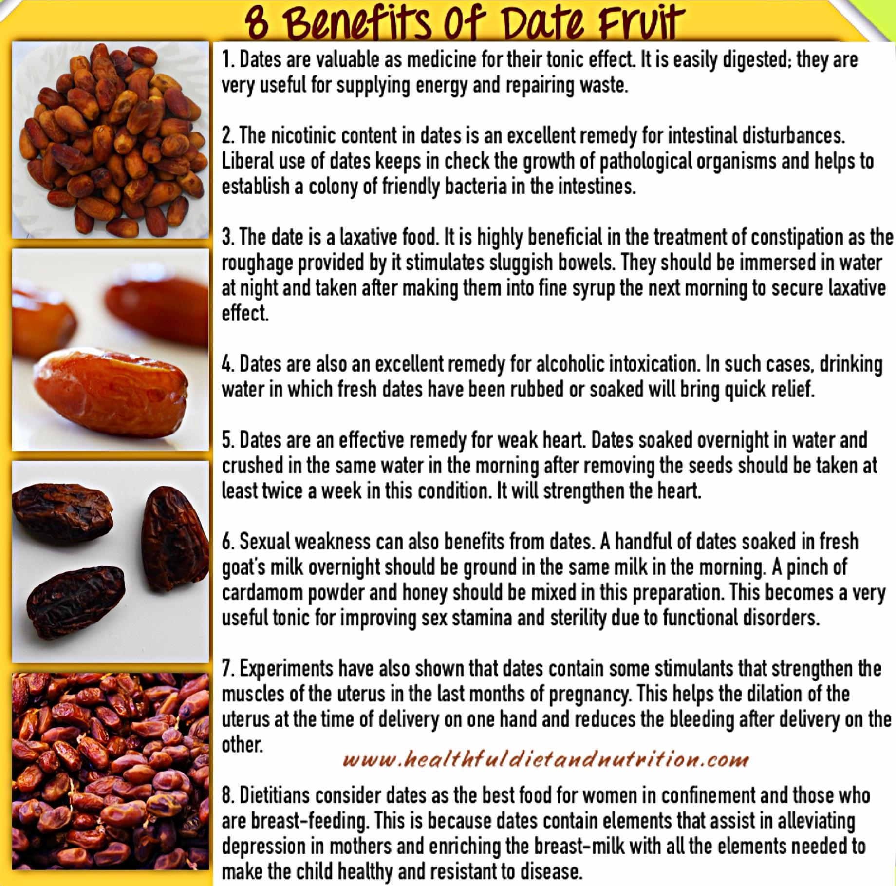 8 Benefits Of Date Fruit