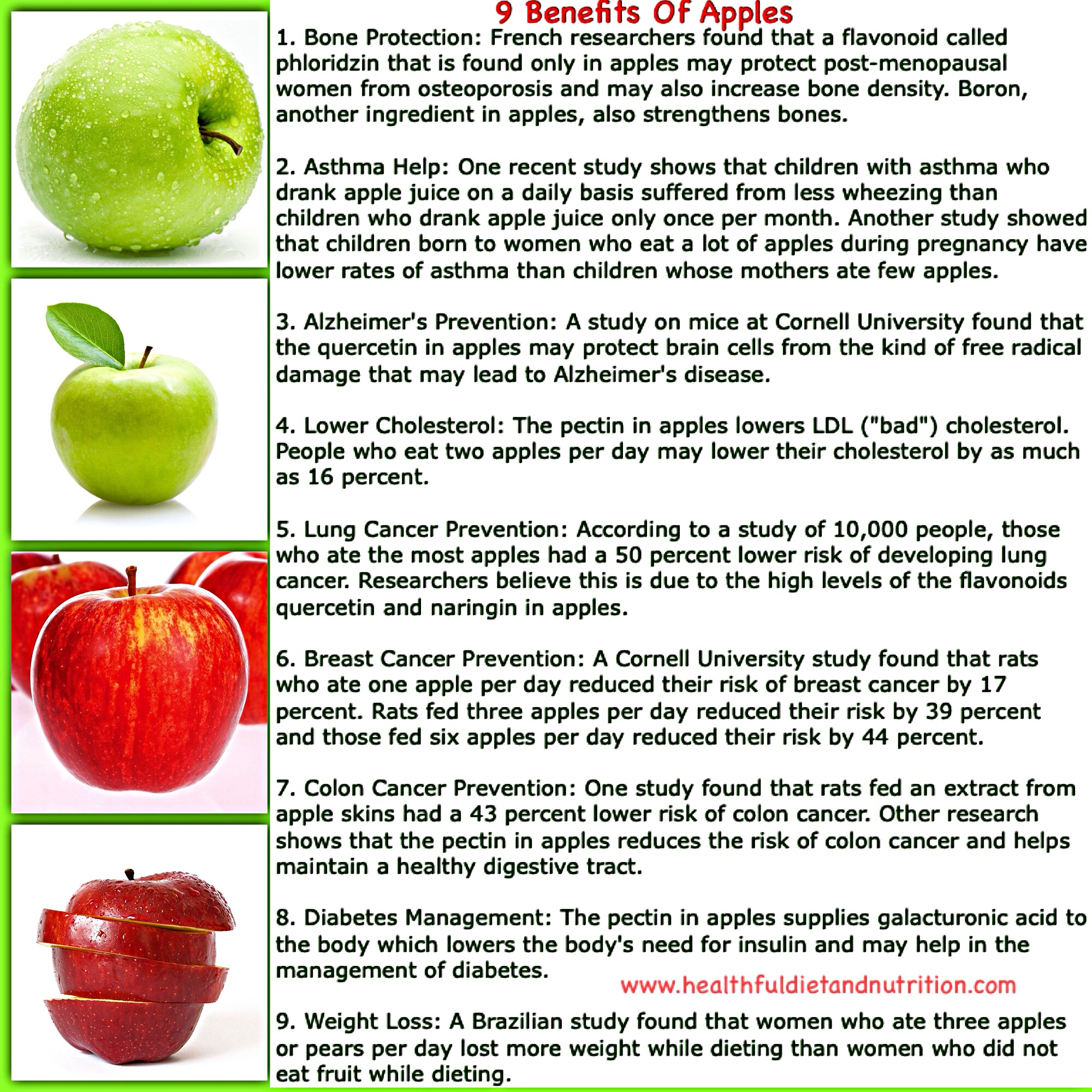 9 Health Benefits of Apple Fruit