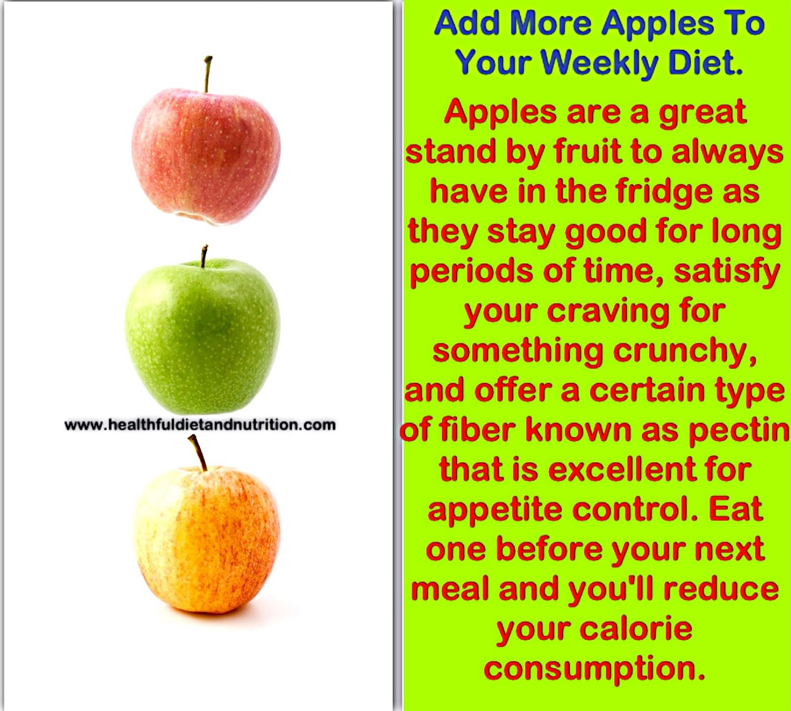 Add More Apples To Your Weekly Diet