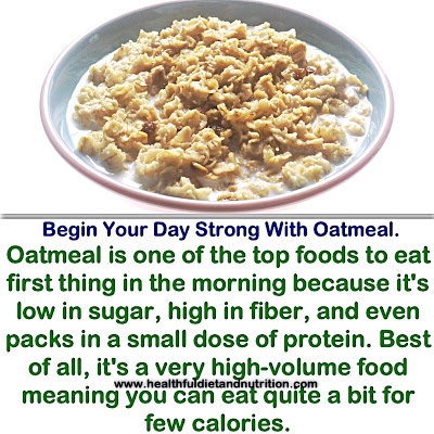 Begin Your Day With Oatmeal
