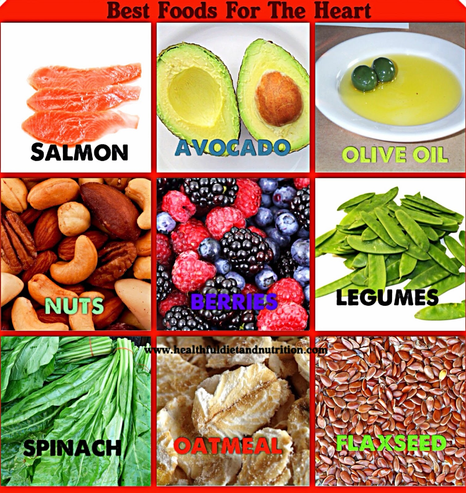 Best Foods For The Heart