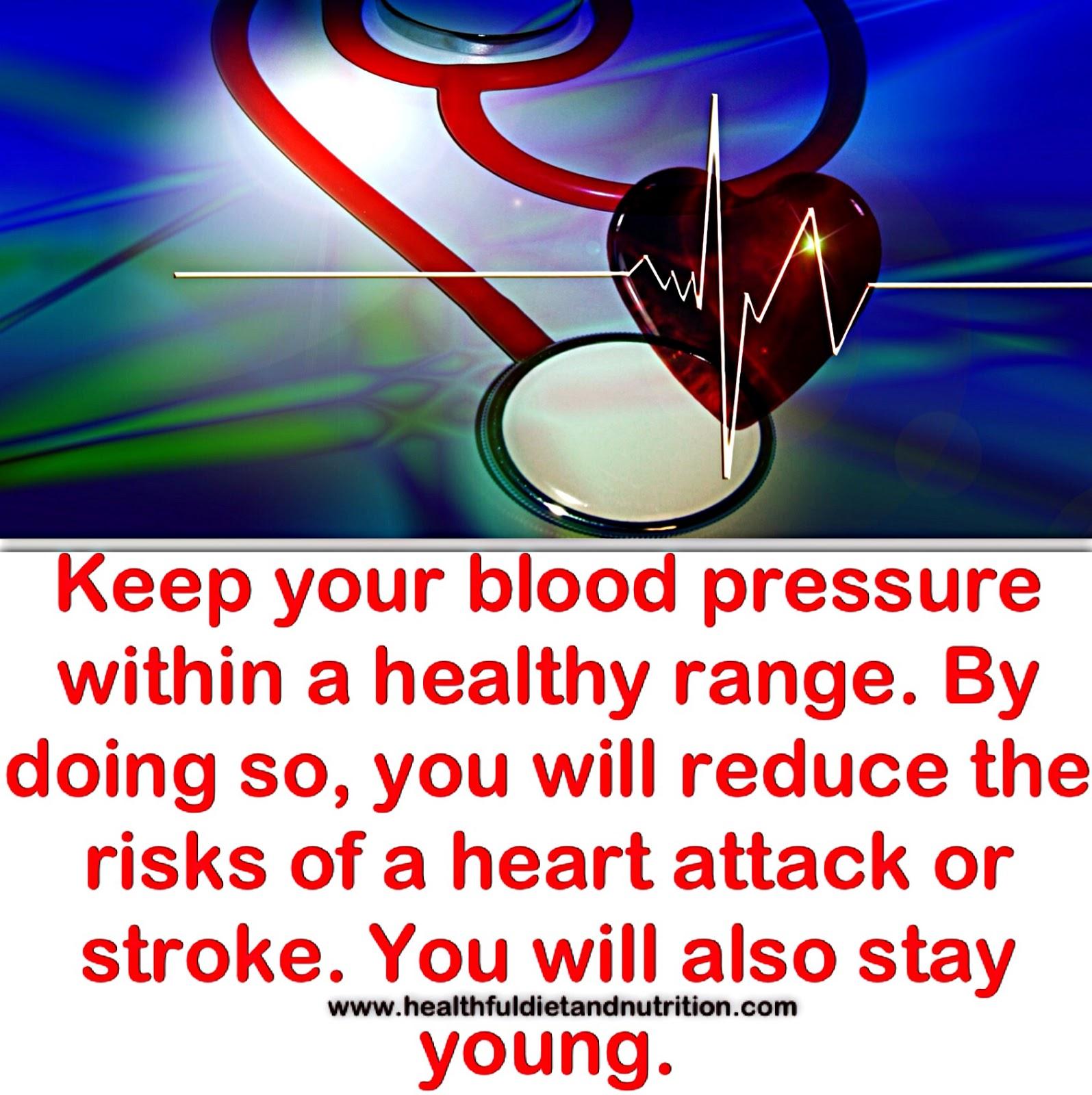 Maintain a Healthy Blood Pressure