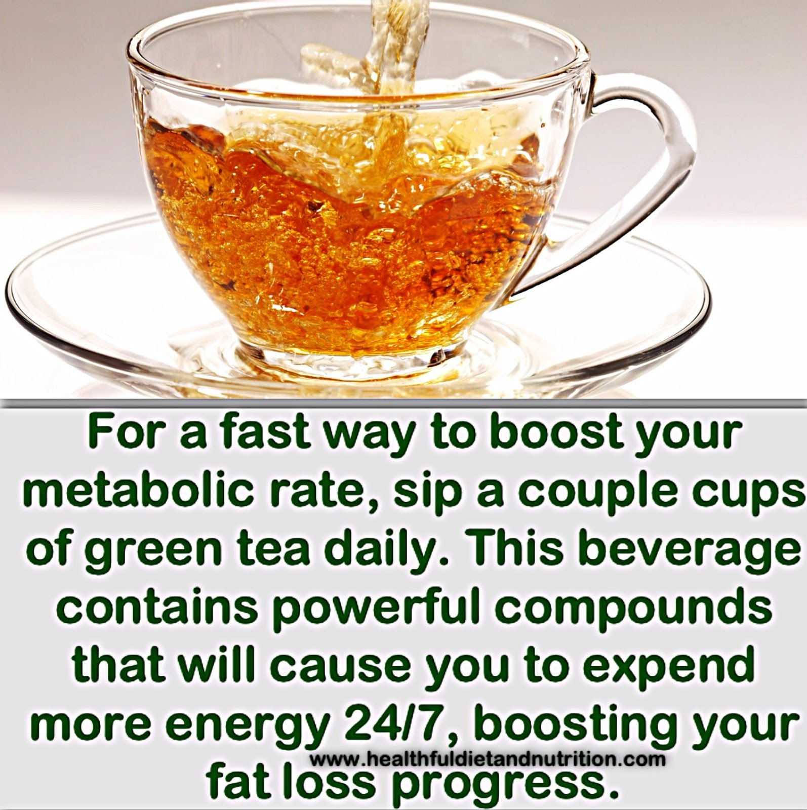 Sip a couple cups of Green Tea Daily