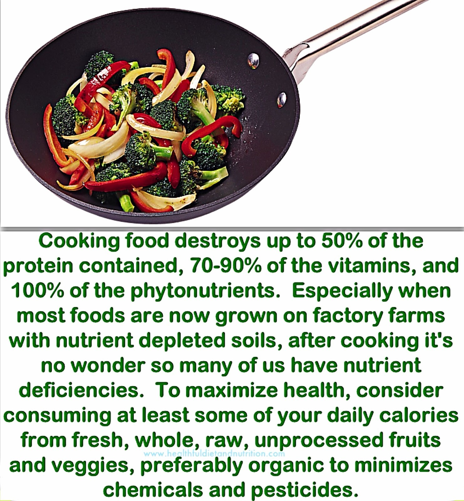 Eat Some Of Your Daily Calories From fresh, whole, unprocessed Raw Foods