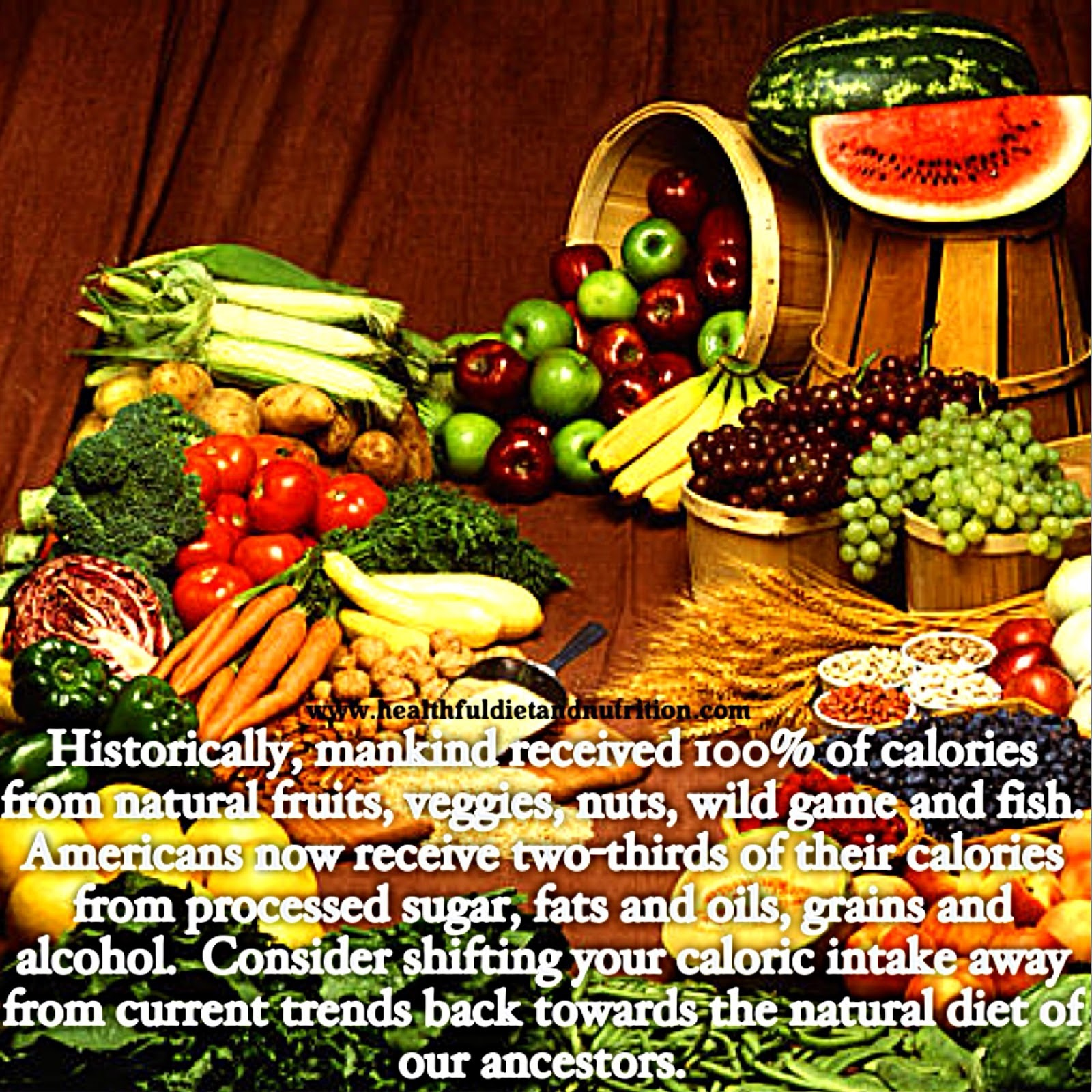 Consume a Natural Diet