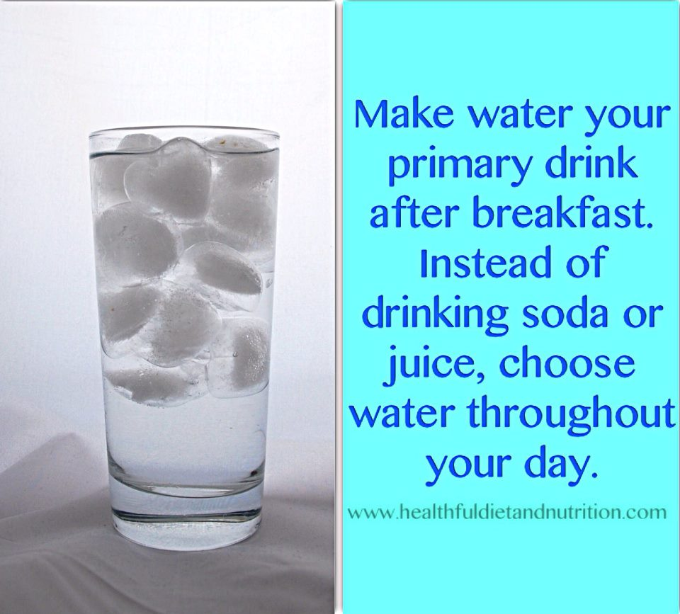 Choose Water Throughout Your Day