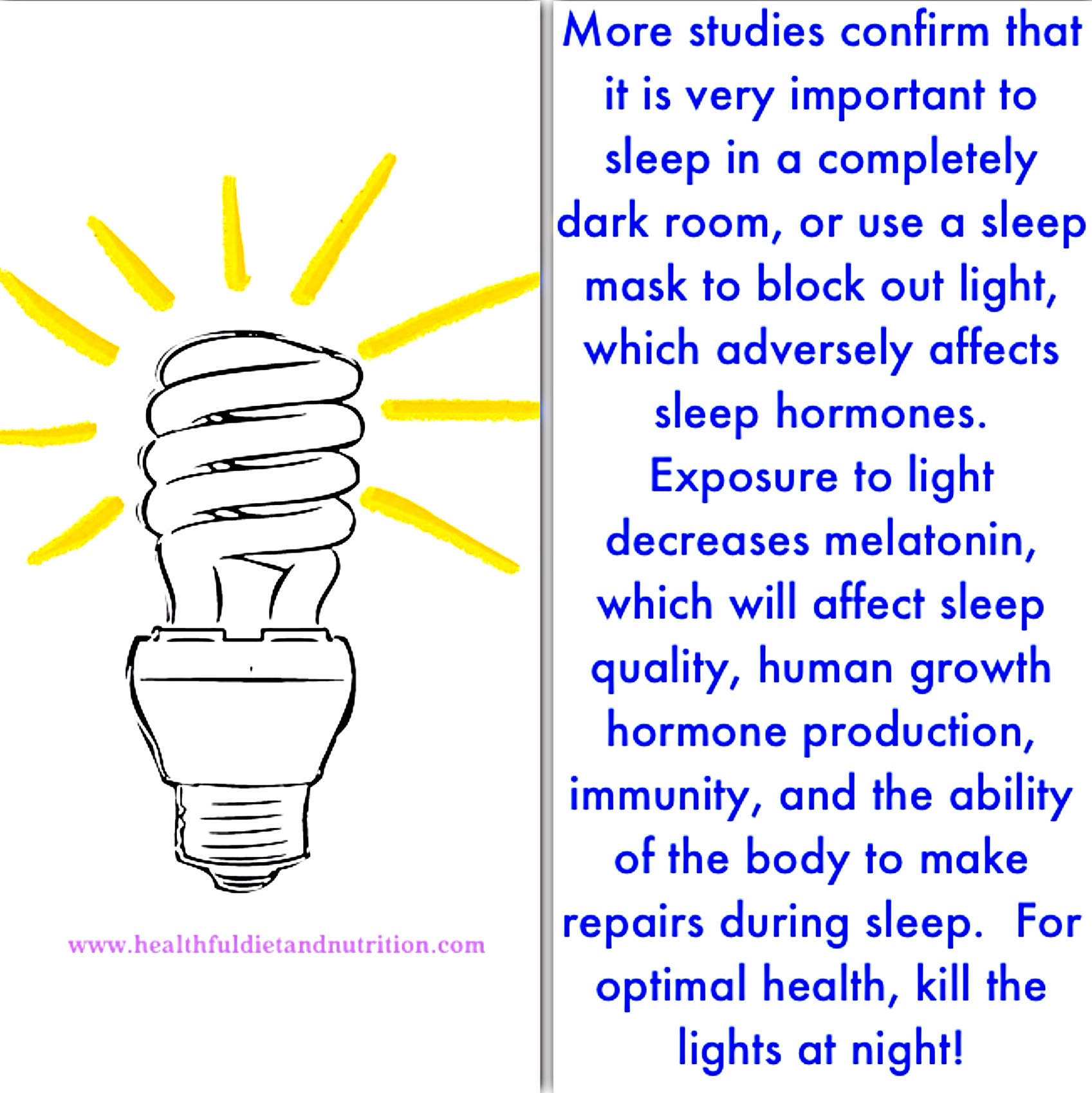 Sleep In A Dark Room For Optimal Health