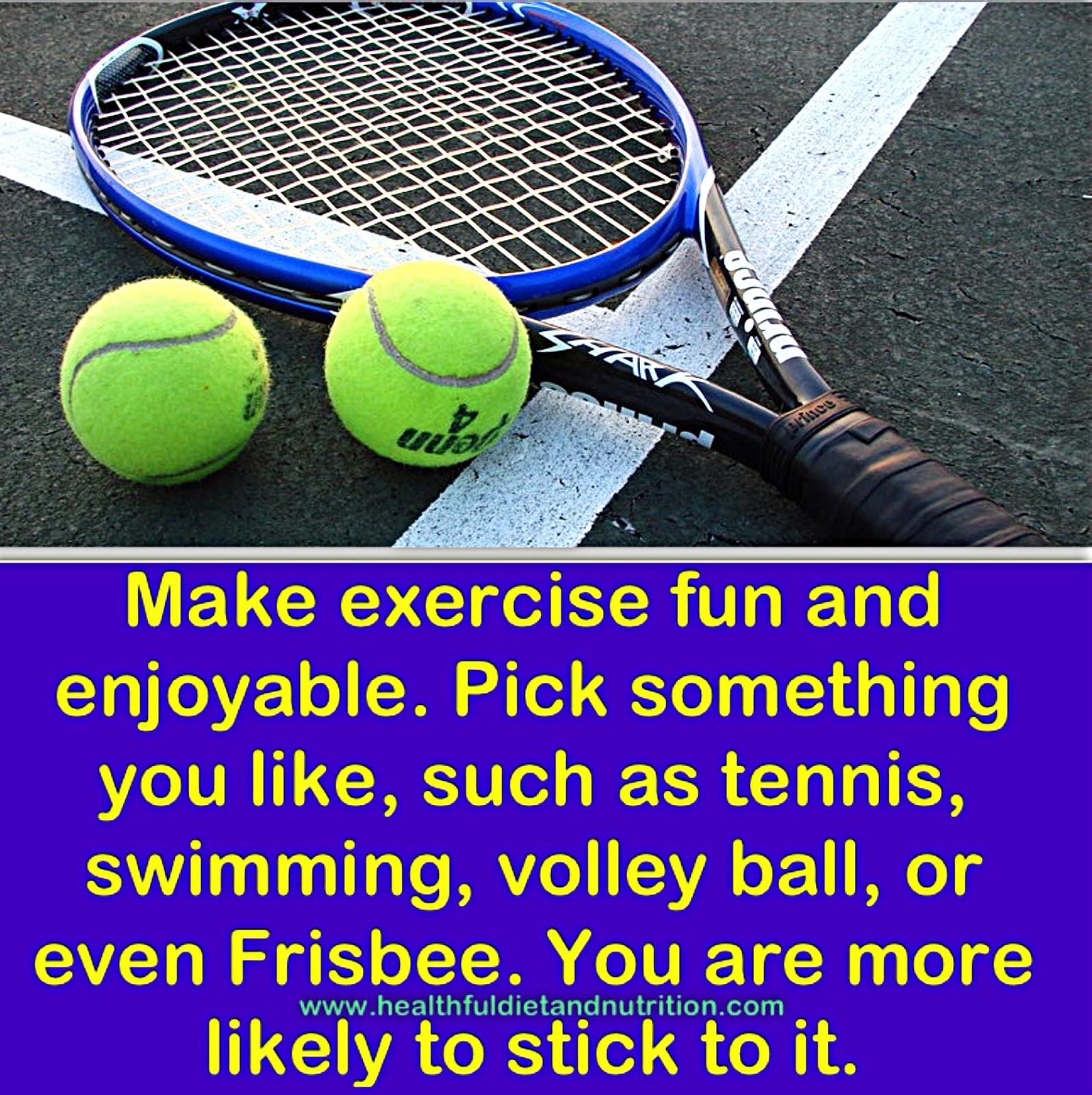 Make Exercise Fun And Enjoyable
