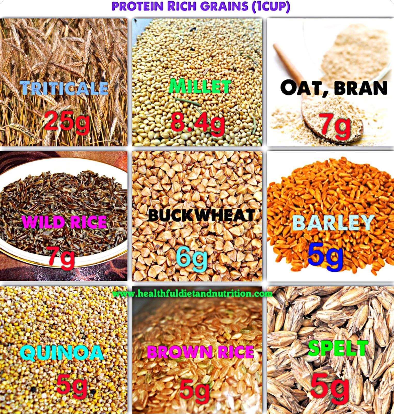 Protein Rich Grains