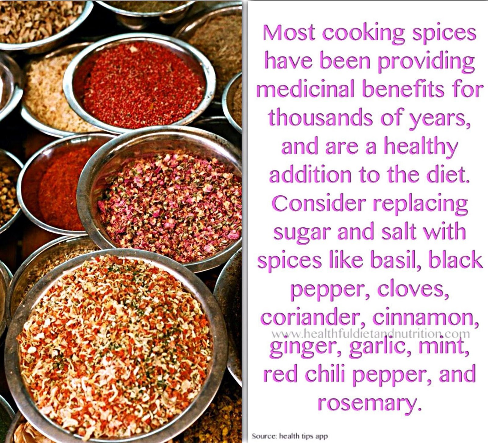 Replace Sugar and Salt With Spices