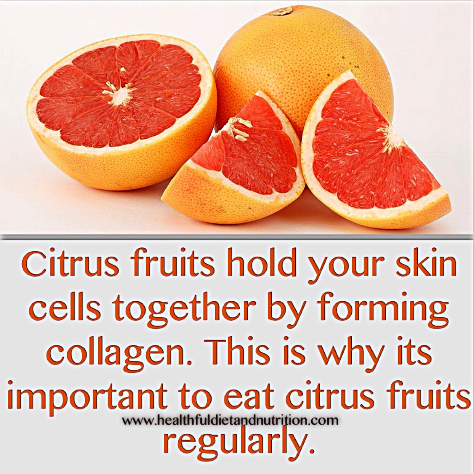Citrus Fruits and Skin Health