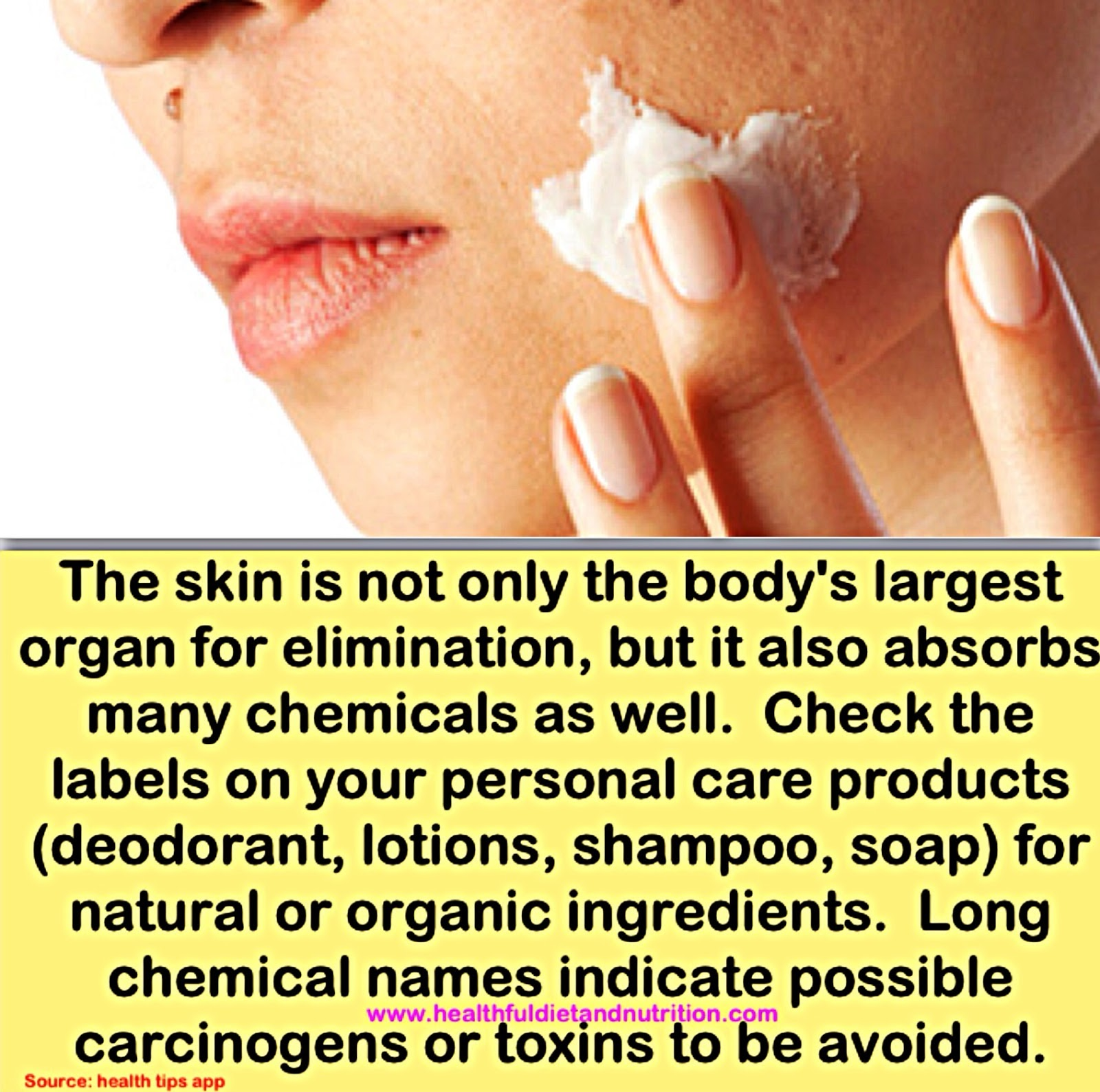 Use Natural or Organic Skin Products