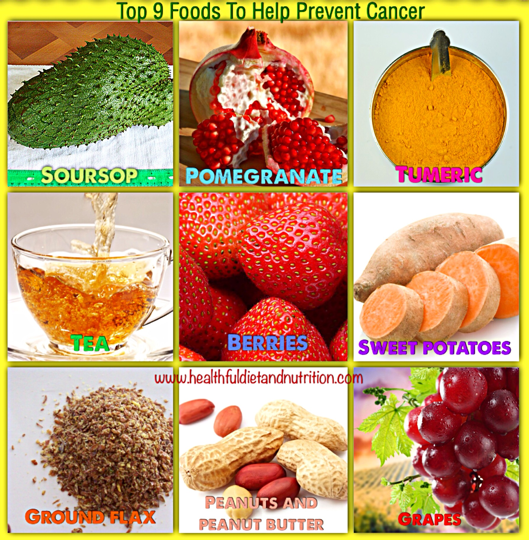 Top 9 Foods To Help Prevent Cancer