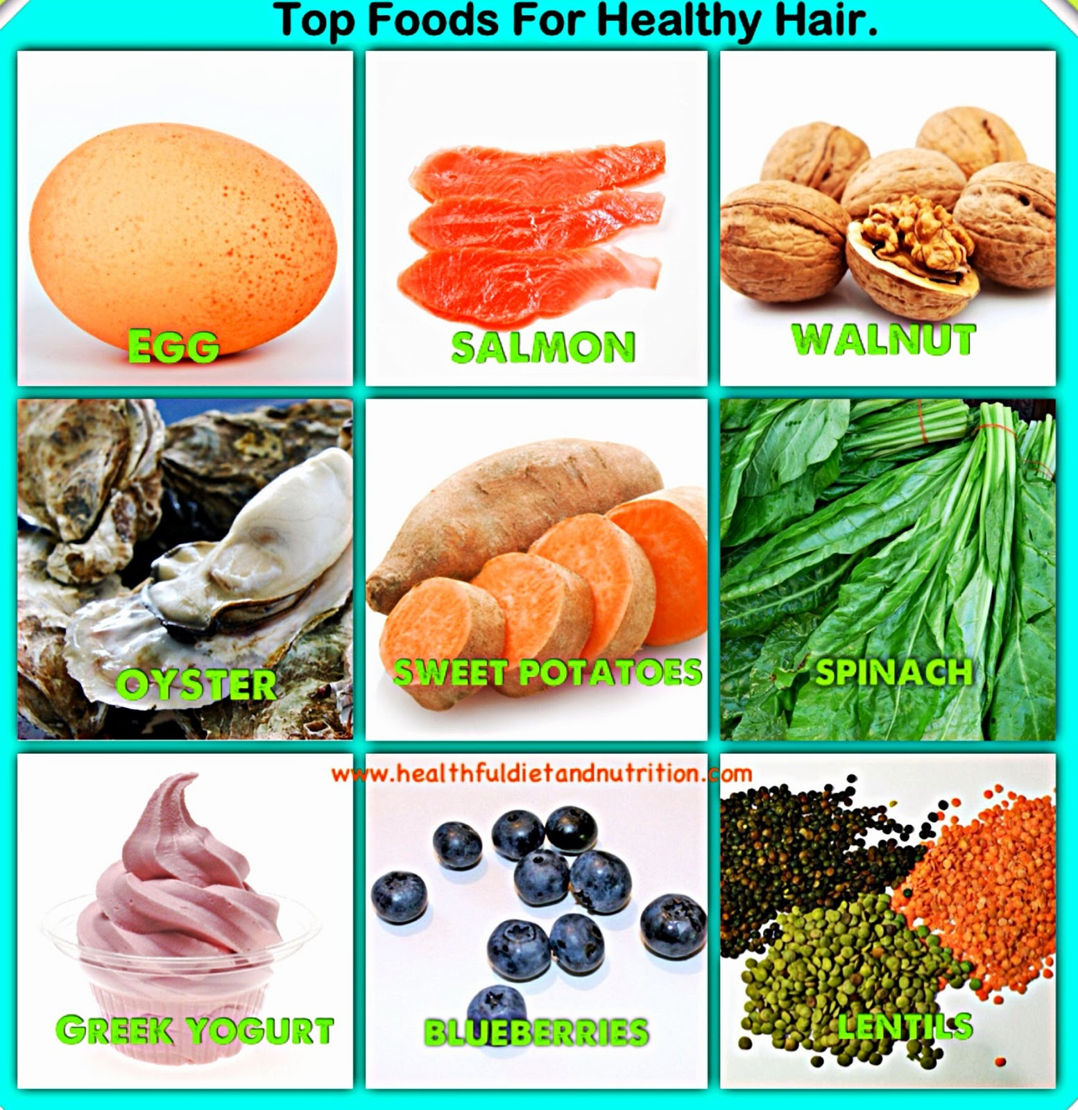 Top Foods For Healthy Hair